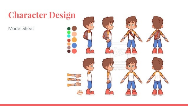 Toon Boom Studio Character Design Package Download : One bounce two