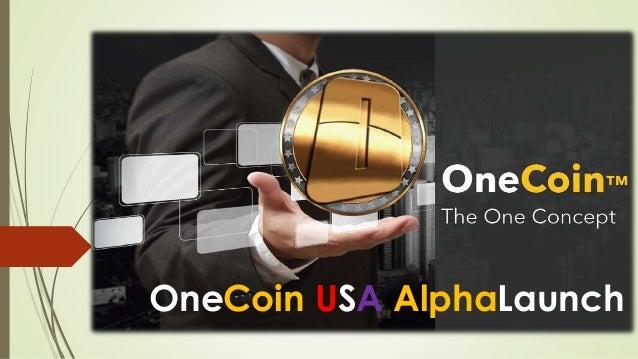 OneCoin USA AlphaLaunch