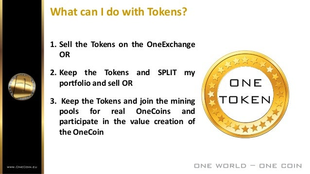 What is the OneCoin Concept--Part 1