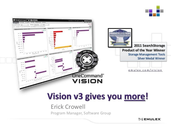 2011 SearchStorage                                  Product of the Year Winner                                     Storage...