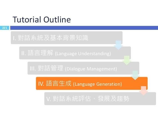 語言生成 Language Generation222