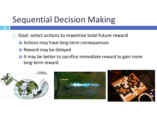 57 Deep Reinforcement Learning Environment Observation Action Reward Function Input Function Output Used to pick the best ...