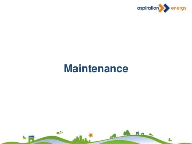 Strainer Maintenance