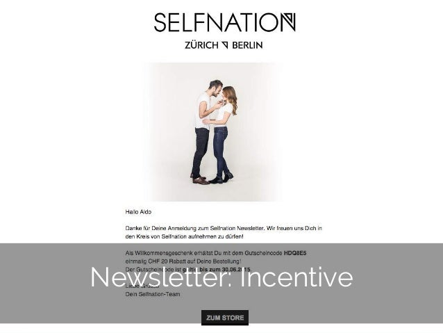 © 2014 Gnocchi Digital Marketing 14 Newsletter: Incentive