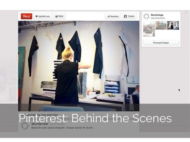 © 2014 Gnocchi Digital Marketing 15 Pinterest: Behind the Scenes