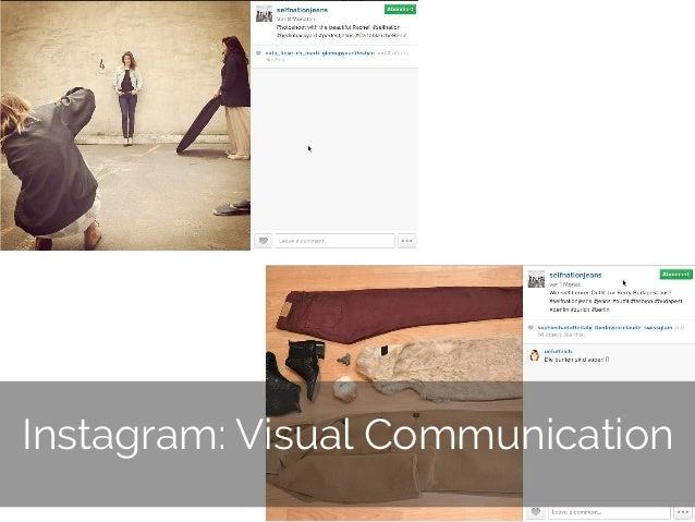 © 2014 Gnocchi Digital Marketing 16 Instagram: Visual Communication