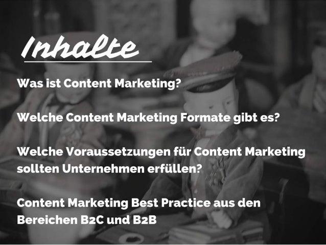 #onedigicomp: Content Marketing Best Pracitces für B2C und B2B Slide 2