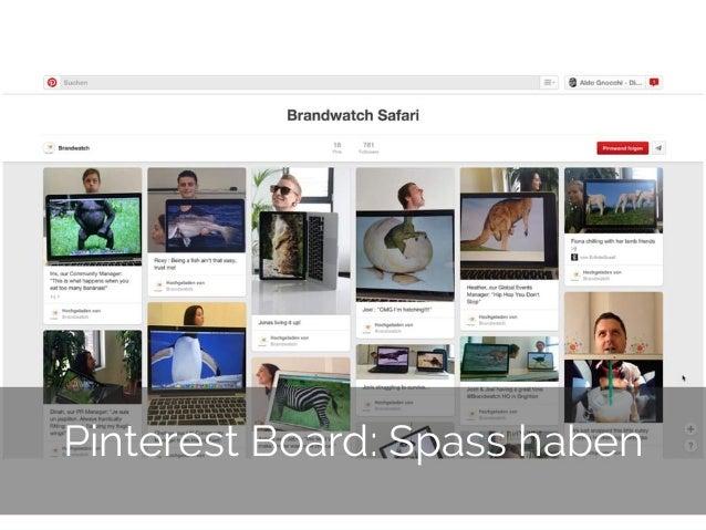 © 2014 Gnocchi Digital Marketing 28 Pinterest Board: Spass haben