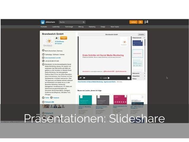 © 2014 Gnocchi Digital Marketing 31 Präsentationen: Slideshare