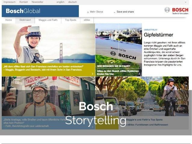 © 2014 Gnocchi Digital Marketing Bosch Storytelling