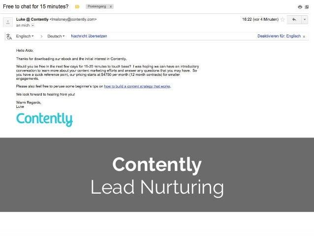© 2014 Gnocchi Digital Marketing Contently Lead Nurturing