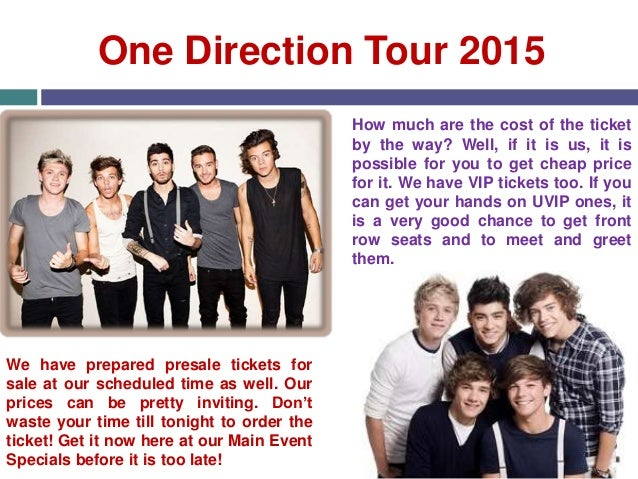 One direction tour one direction tour 2015 how m4hsunfo