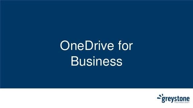 OneDrive for Business - NextGen Client Onedrive For Business