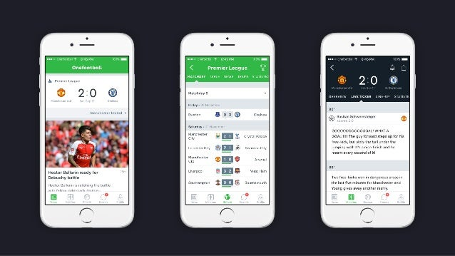 An inside look into Onefootball iOS team @ CocoaHeads