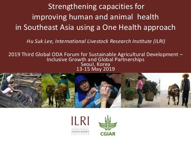 Strengthening capacities for improving human and animal health in Southeast Asia using a One Health approach Hu Suk Lee, I...