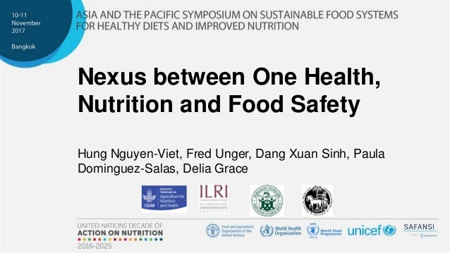 Nexus between One Health, Nutrition and Food Safety Hung Nguyen-Viet, Fred Unger, Dang Xuan Sinh, Paula Dominguez-Salas, D...