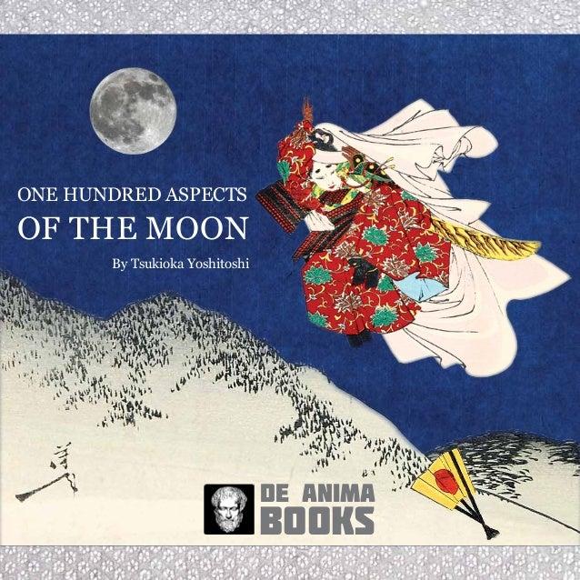 books de anima By Tsukioka Yoshitoshi ONE HUNDRED ASPECTS OF THE MOON