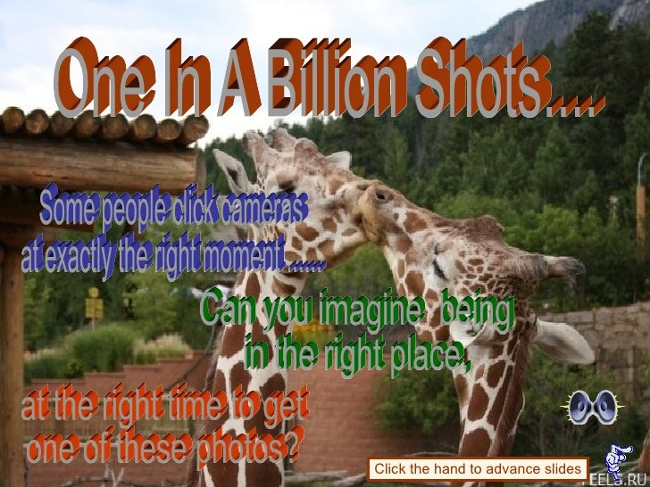 One In A Billion Shots.... Can you imagine  being  in the right place, Some people click cameras  at exactly the right mom...
