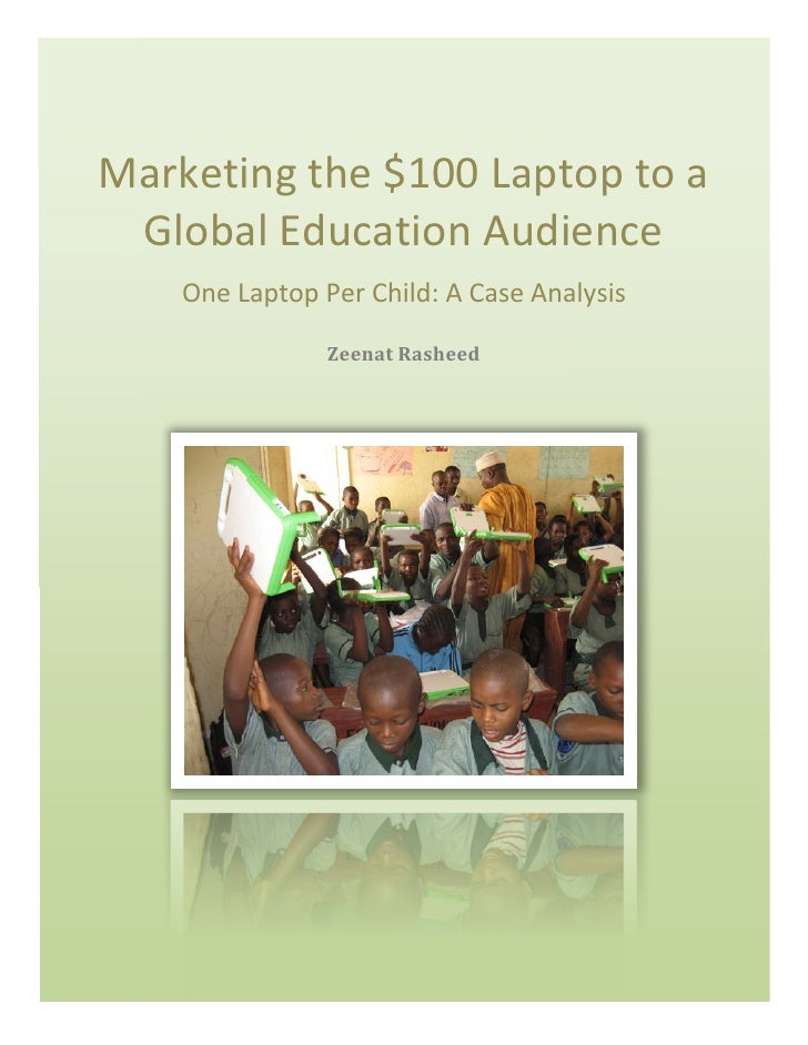 marketing the 100 laptop Start studying marketing final final exam learn vocabulary, terms, and more with flashcards, games, and other study tools.