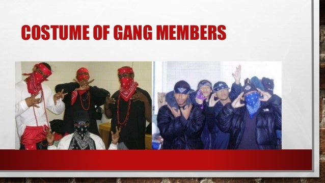 Gang Members With Bandanas