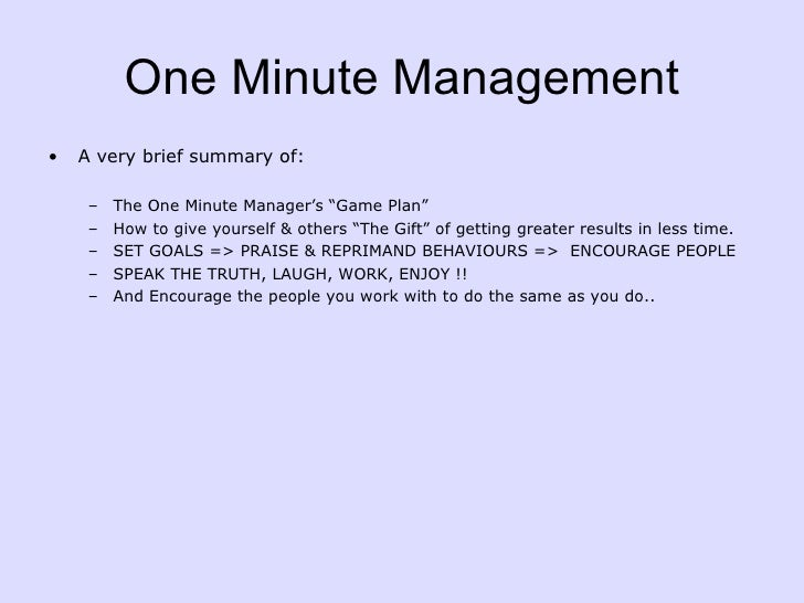 one minute for yourself pdf