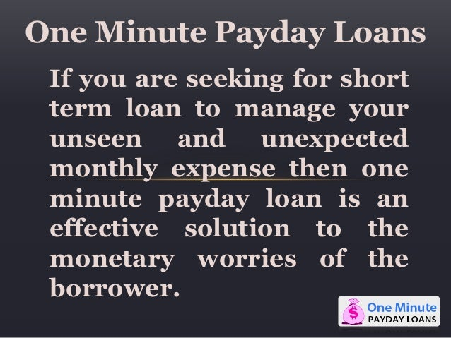 Can bankruptcy clear payday loans image 4