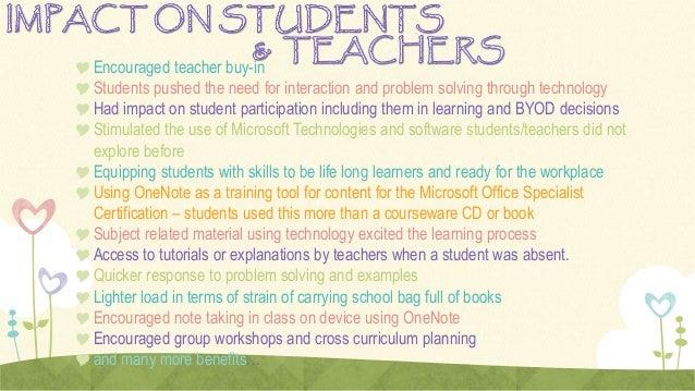 OneNote TeachMeet Presentation Slide 3