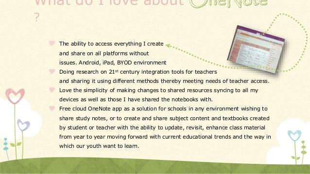 OneNoteSway - as Presentation Slide 2