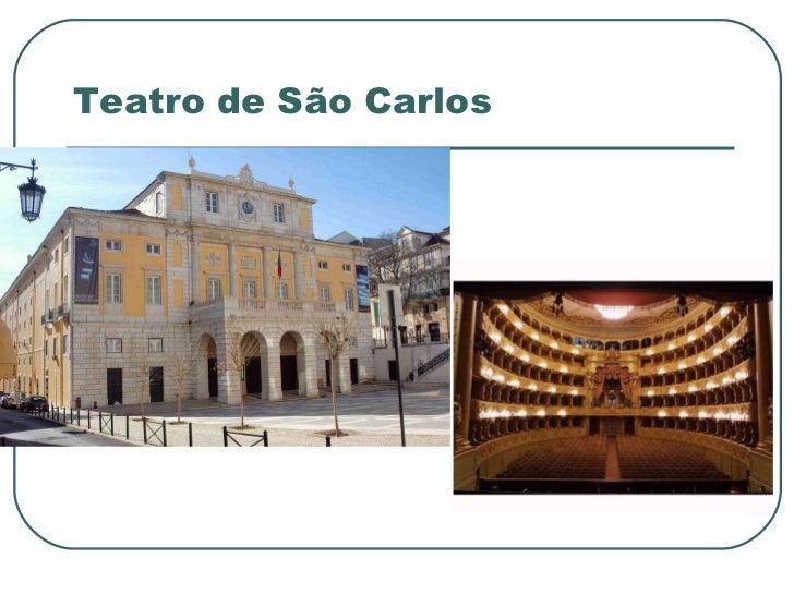 Teatro de São Carlos