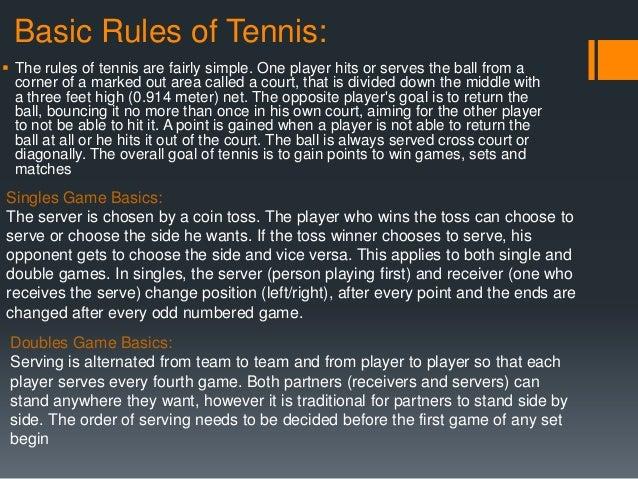 my favourite tennis player essay