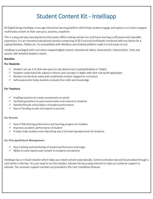 Intelliapp Product Benefits ~ DS Digital