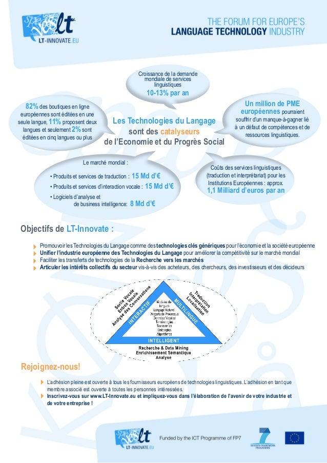 Croissance de la demande mondiale de services linguistiques  10-13% par an  82% des boutiques en ligne  européennes sont é...