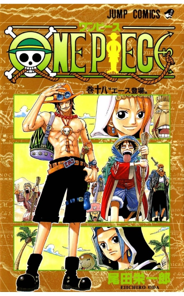 One piece volume 18(156-166)