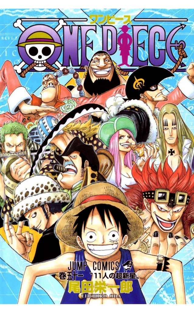 One piece volume 51 (492-502)