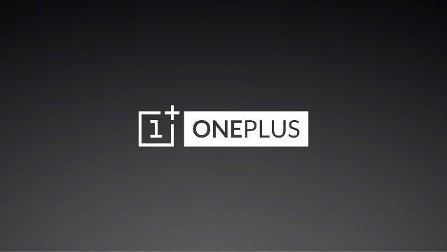 Oneplus one-keynote