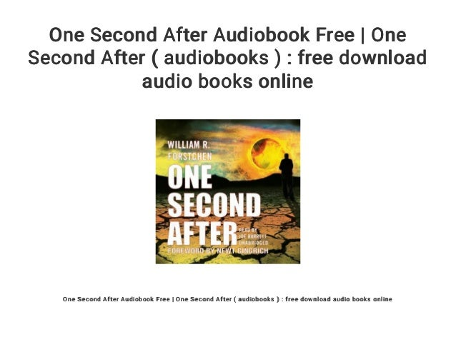 One second after audiobook free   one second after ( audiobooks ): f….