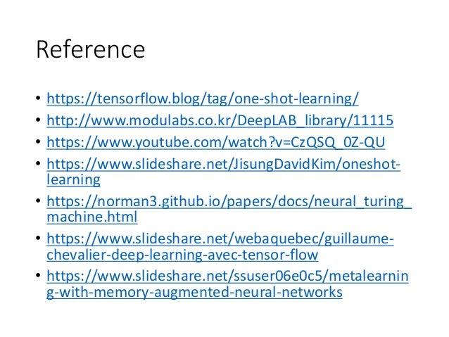 One shot learning - deep learning ( meta learn )