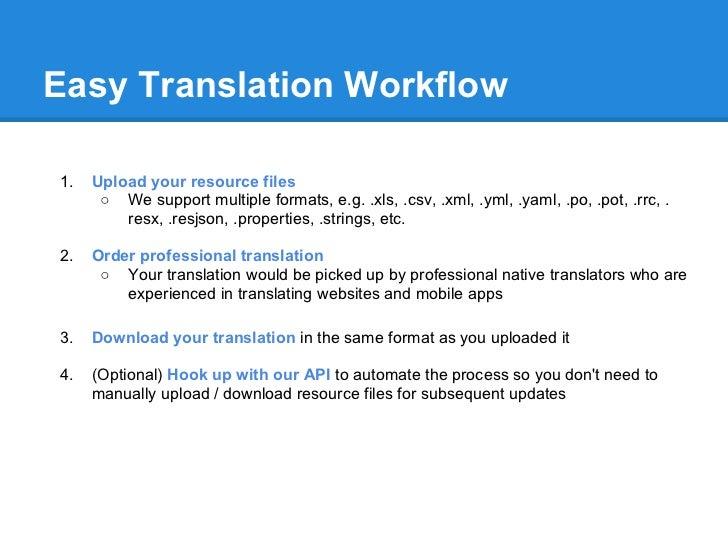 hook up translation