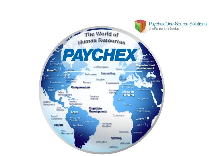Paychex One Source Solutions