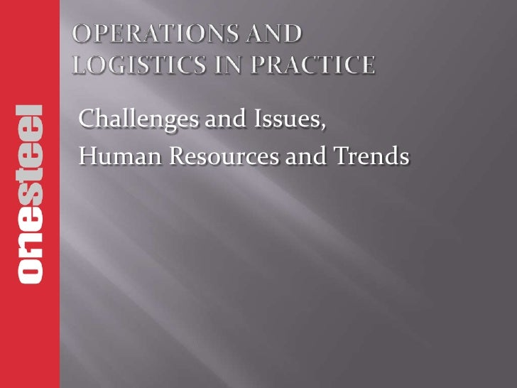 Challenges and Issues,Human Resources and Trends