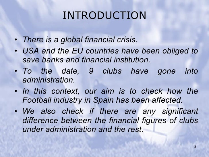 spanish financial crisis The impact of the 2008 economic crisis on dynamic productivity growth of the spanish  of crisis on dynamic productivity growth  financial crisis,.