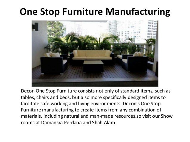 Good One Stop Furniture Manufacturing ...