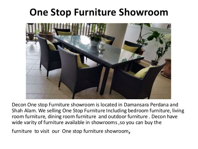 One Stop Furniture Showroom Decon One Stop Furniture Showroom Is Located In  ...