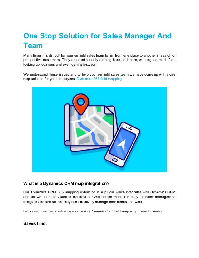One Stop Solution for Sales Manager And Team Many times it is difficult for your on field sales team to run from one place...