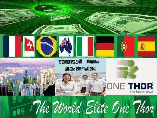 Entrada : www.onethor.com/goldweb Facebook : One Thor - Goldweb Team Revolution