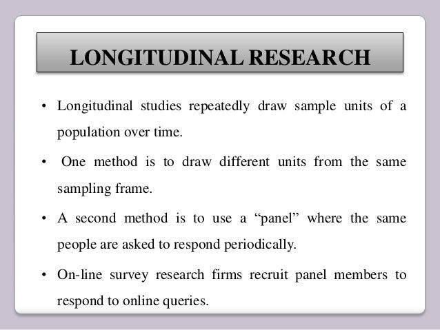 Longitudinal study - Wikipedia