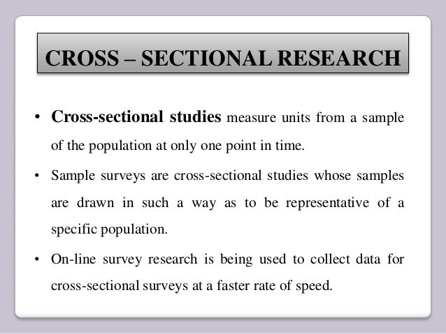 One Time Research And Longitudinal Research
