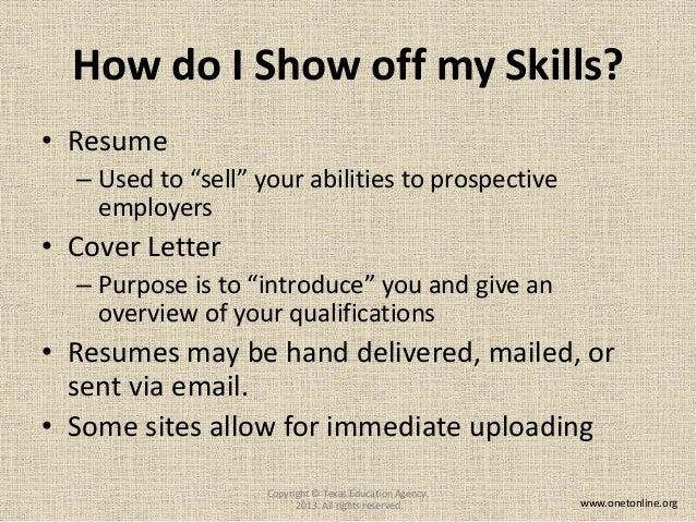 SlideShare  Onet Online Resume