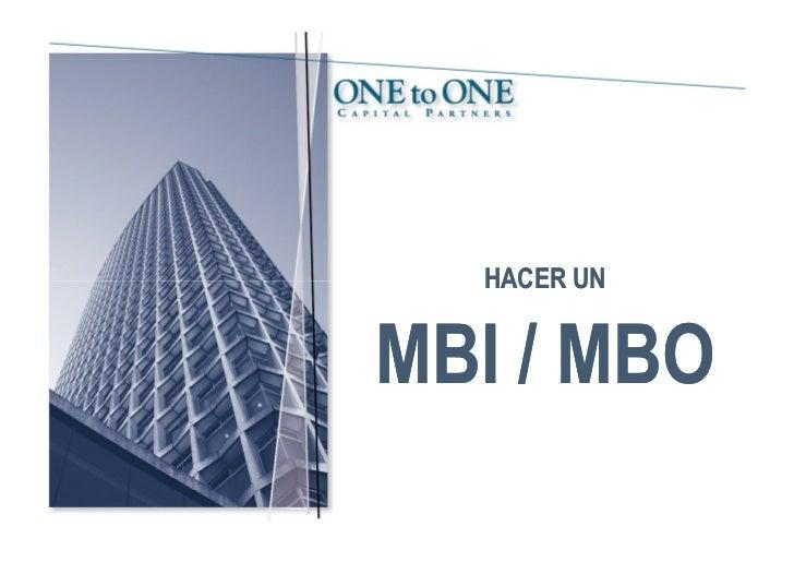 HACER UNMBI / MBO