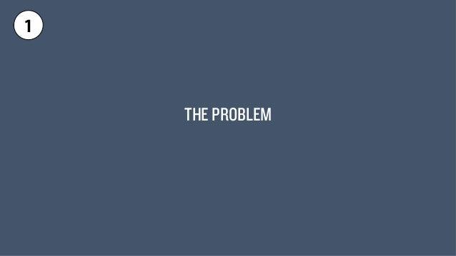 THE PROBLEM  1